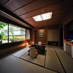 【温泉付和室】ゆったり15畳の本間+リビング〜仙渓園「芙蓉」