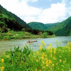 【観光タクシープログラム】 <山形の母なる大河 最上川舟下りコース> 豊かな自然と歴史に出会う旅〜