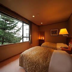 【温泉付特別室&夕食バイキング】 〜和洋室 仙渓園「竹」〜 ベッドルーム・和室・リビングで広々