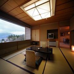 【至福のひととき】 北の丸棟9F・最上階の貴賓室「観月」  ゆとりある格式高しこだわりの客室
