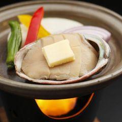 【特報】【お盆日程プレミアムプランを御案内中】(米沢牛肉&鮑のステーキ)ダブル陶板焼きでおもてなし