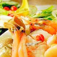 【極上】パワー全開プレミアム(海鮮系)★鮑料理・海鮮しゃぶ・季節の海鮮★贅沢3種&飲み放題特典