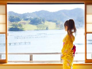 【当館人気客室】 久美浜湾を望む二間続き和室