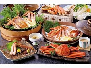 【冬得】*ゆったり和室で蟹三昧プラン〜ご夕食はお部屋食でごゆっくりどうぞ♪