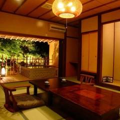 露天風呂付き客室(和室1F10畳+2F10畳メゾネット)