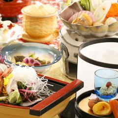 【はまゆう膳〜美味しい伊豆旅】お得に贅沢◆女将監修の海鮮会席を堪能