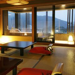 【お部屋食で贅沢なひと時を・・・】露天付客室で味わう■潮騒膳