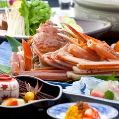 【早割30・冬の味覚】旬のかにをあったかお鍋で!活ずわい蟹鍋懐石