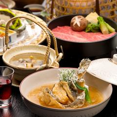 【味覚プラン】品数は控えめに上質な味わいを「季節の特選少量美味懐石」
