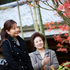 豪華な母娘温泉旅行☆ヒノキ風呂付特別室と至福のエステ「母娘で過ごす優雅な休日」(特別室)