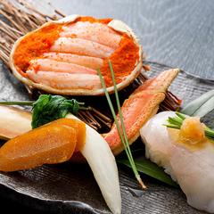【冬の味覚】天然河豚、松葉蟹の極上コラボ 冬の極み懐石