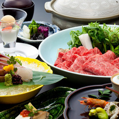 【早割30】大人の旬鍋 春野菜と特選黒毛和牛の「山菜牛鍋懐石」