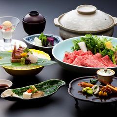 【春の味覚】大人の旬鍋 春野菜と特選黒毛和牛の「山菜牛鍋懐石」