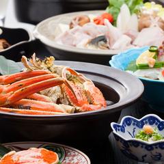 【早割30・冬の味覚】活ふぐとずわい蟹(かに)の競演 冬づくし