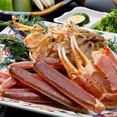 【冬の味覚】旬のかにをフルコースで!活ずわい蟹づくし
