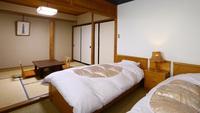 <限定1室>和室6畳+ツインベッド【Bタイプ◇和洋室】