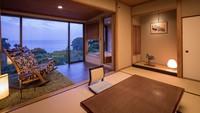 【203・205】ヒノキの露天風呂付き客室(禁煙)
