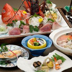 【夕食のみ】【部屋食】海の幸、里の幸を使っておいしさへのこだわりを表現、ぐっすりお休みください