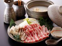 【冬の大鍋プラン】〜 豚と白菜と豆腐のトロトロ鍋 〜 温泉と鍋でHOTにあったまるお得プラン♪