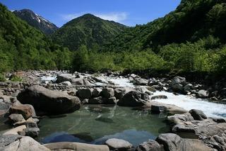 新穂高温泉 深山荘