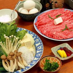 【選べる夕食】すき焼きor豚しゃぶ!個室で囲むお鍋で楽しい夕食の思い出に★