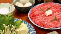 【グレードアップ】特選:近江牛のすき焼き!!ブランド和牛を個室食で存分に堪能!!