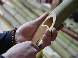【1日3組限定/楽天限定】手作りの竹筒で味わう〜一味違う!かっぽ酒1本付☆プラン