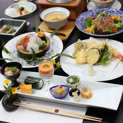 ◆日本食を楽しむ◆メイン料理がてんぷら&しゃぶしゃぶプラン【黒毛和牛】