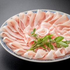 メイン料理を充実してボリューム満点に!『県産・桜王(豚)しゃぶしゃぶ会席』コース