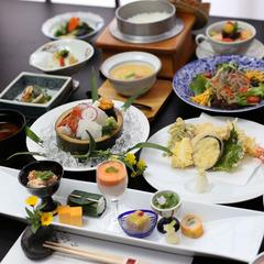 ◆日本食を楽しむ◆メイン料理がてんぷら&すき焼きプラン【黒毛和牛】