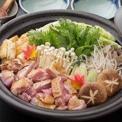 メイン料理を充実してボリューム満点に!大分産★冠地鶏鍋★コース♪