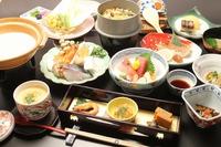 【春得・お雛様】 いわて門崎丑の鉄板焼きと三陸海鮮鍋付きプラン