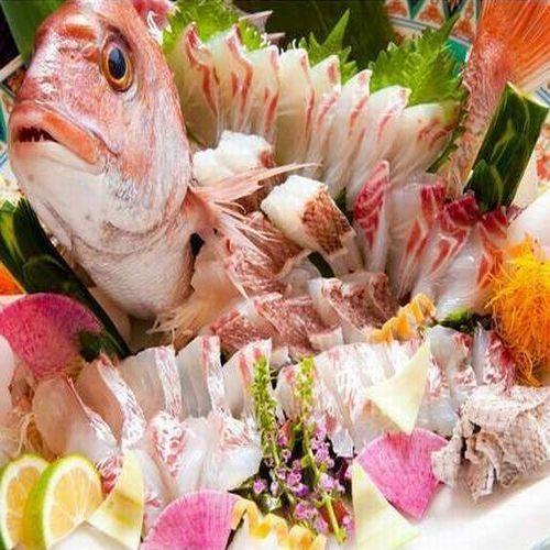 【還暦お祝いやありがとうと思いを伝えたい人へ!】長寿お祝いプラン♪鯛の姿造り+豊後牛しゃぶしゃぶ懐石