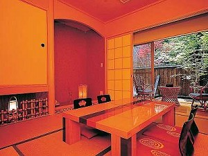 客室露天風呂付 和室8畳