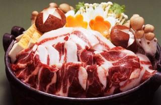 【名物猪鍋】or【ふくちり】会場食でお得♪ ほっこり選べる鍋プラン ※お鍋はご予約時にご指定ください