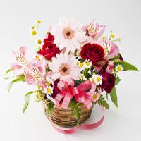 【母の日】「ありがとう」の気持ちを込めて♪花のブーケ付きプラン