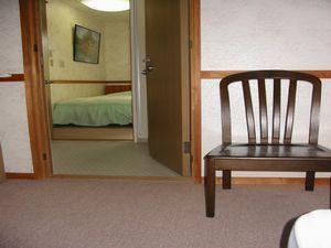 洋室4人部屋ユニットバストイレ付