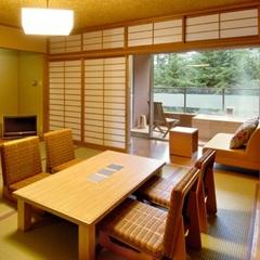 【ZEN】和室+広縁+天然温泉100%掛流しの露天風呂付