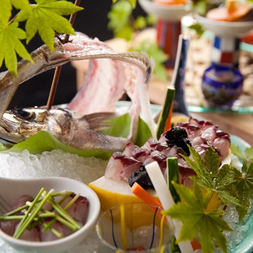 【グルメ】大分のブランド魚【関アジ付き】料理長おまかせプラン ≪個室≫