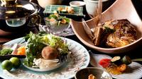 【グルメ】天然鯛しゃぶしゃぶプラン≪露天風呂付客室・個室お食事処≫