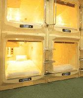 【日月の連泊で超お得!】スペシャルプラン《素泊まり》 カプセル上段 コンセント口付 2泊で6400円
