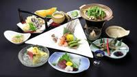 ●【料理グレードアップ】 全8品 旬の焼物料理プラス!群馬の食材を吟味〜夕食はお部屋or個室食〜