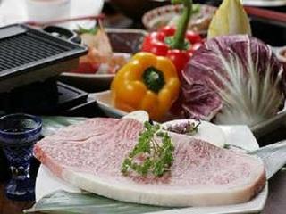 鹿児島産牛ロースステーキプラン【こころの湯入浴券付】