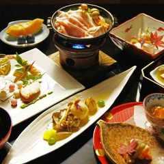 【楽天スーパーSALE】8%OFF 夕朝食付き 懐石風和食膳【竹】