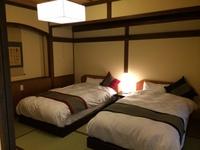 *1番人気!1階【離れ】ツインベッド+和室8畳(禁煙)