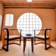 特別室 源泉古代檜風呂付客室「二人静」◆禁煙