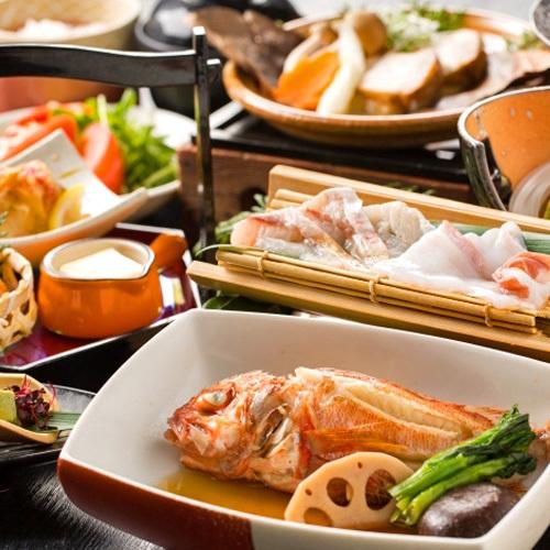 【秋・たけの会席】〜美味少量・旬の料理5品〜のどぐろ・水蛸・キチジなど旬の素材に舌鼓