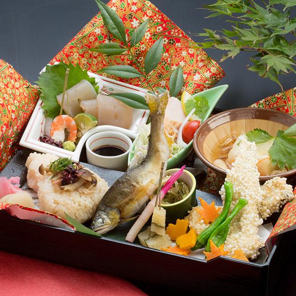 お部屋でゆったりご夕食☆松花堂弁当プラン
