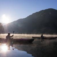 【カヌー体験&2食付コース】大自然!感動!貸切温泉!非日常の癒し旅・個室でお食事♪