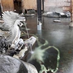 【岩魚の骨酒と2食付湯めぐりコース】お酒好きには堪らないお山の一献&貸切で温泉三昧!